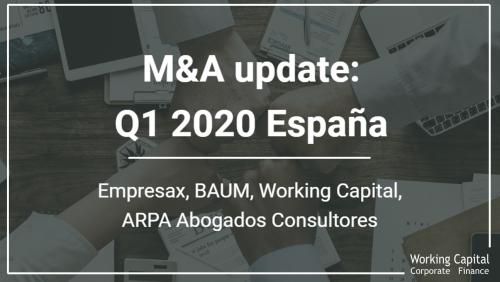 Actualidad M&A Q1