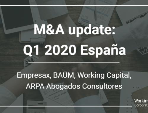 Working Capital, ARPA y BAUM Partners repasan la actualidad M&A y Capital Riesgo en el Q1 2020